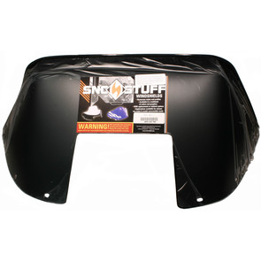 "450-247-50 - Polaris Sport Low 11"" Windshield  Low Black"