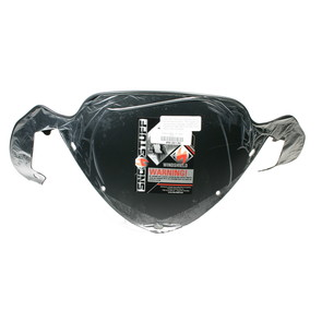 """450-261-50 - Polaris X-Low 10"""" Solid Black Windshield for many IQ chassis Snowmobiles."""