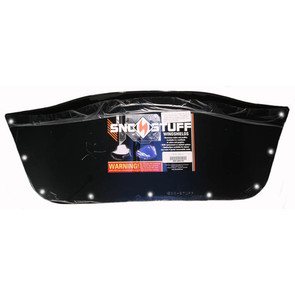 450-468-50 - Ski-Doo Low (Insert Only) Black Windshield. Ski-Doo F-2000/S-2000 Series Hood w/Support Pod.
