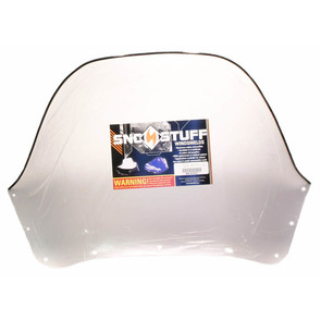 450-474-01 - Ski-Doo High (Insert Only) Clear Windshield. Ski-Doo F-2000 Series Hood w/Support Pod.
