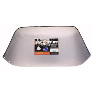 """450-610 - Yamaha Standard 12"""" Windshield Clear"""