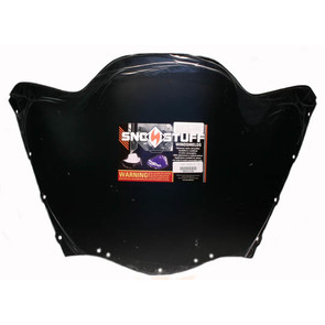 450-613-50 - Yamaha Low Sport Solid Black Windshield. Vmax Chassis.