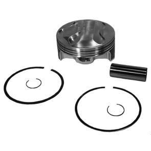 4737M10050 - Wiseco Piston for Yamaha 660 cc engine. Hi-compression. .020 oversize.