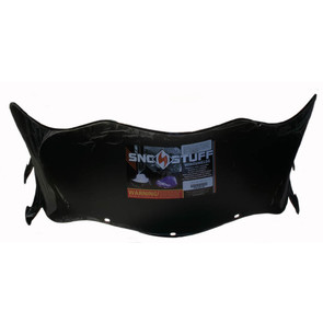 "479-202-50 - Polaris Aggressive Low 14-1/2"" Flared Windshield  Black. Agressive Style Hood."