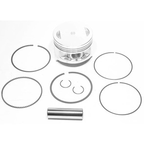 "50-255-06 - ATV .030"" (.75 mm) Piston Kit for many 85-01 Kawasaki 300cc models."