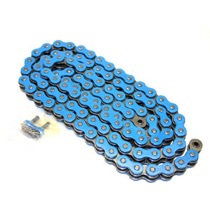520BL-ORING-112 - Blue 520 O-Ring ATV Chain. 112 pins
