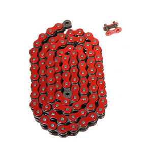 520RD-ORING-104 - Red 520 O-Ring ATV Chain. 104 pins