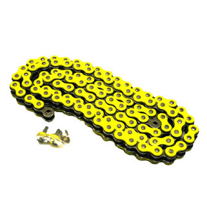 520YL-ORING-114-W1 - Yellow 520 O-Ring Motorcycle Chain. 114 pins