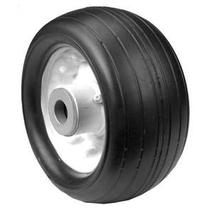 "6-11956 - 6.25"" X 3"" Toro 63-8400 Deck Wheel with 3/4"" ID Bore (Rib Tread)"