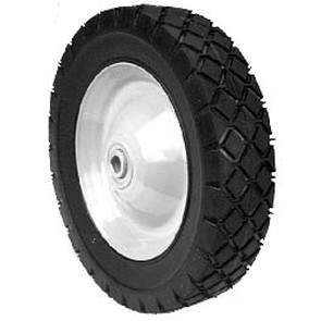 """6-9875 - Steel Wheel with 7/16"""" ID Ball Bearing for Snapper"""