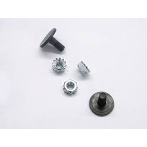 "620-250 - 1/4"" Track Nut/Bolt (50 per bag)"
