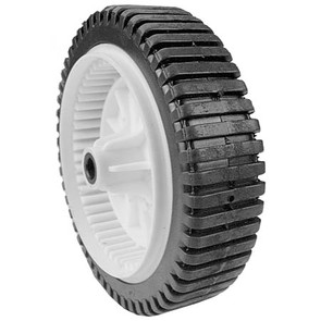 "7-10758 - 8"" x 2"" Drive Wheel with 1/2"" ID Bore (Lug Gear Tread)"