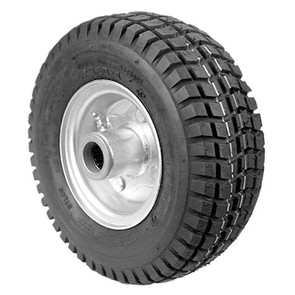 8-10816 - 9x350x4 Velke Solid Foam Wheel Assembly.