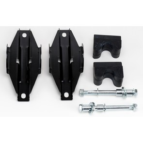 900MKA-1 - Arctic Cat Camoski Mounting Kit. (AWS III, IV, V narrow mount, 10mm bolt) (1 pair)