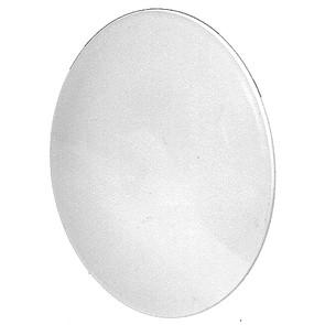 """7-9675 - 8"""" Plastic White Hub for Flymo"""