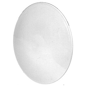 """7-9678 - 9"""" Plastic White Hub for Flymo"""
