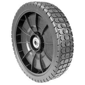 "7-9676 - 9"" Plastic Wheel for Flymo"