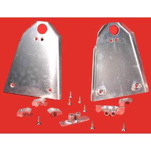 AT-04152 - Aluminum A-Arm Guard. Fits 99-00 Honda TRX400EX