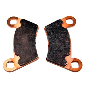 Full Metal Front & Rear Brake Pads for 02-newer Polaris Ranger.