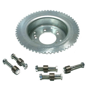 AZ2217-1816 - 60 Tooth Sprocket/Drum Assembly, Machined ID, Drilled to fit Astro Wheels