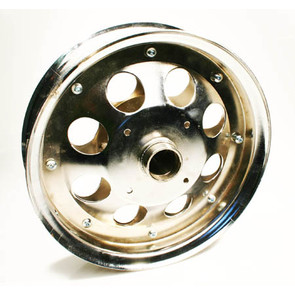 "AZ10151 - 10"" Steel Basic Wheel, Plated with 5/8"" Bearing"