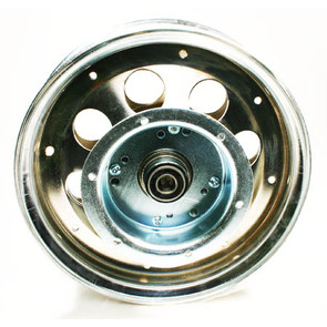 "AZ10153 - 10"" Steel Wheel With Riveted Brake Flanged Drum, 5/8"" Bearing"