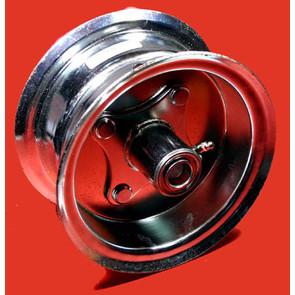 """AZ1035 - 6"""" Steel Wheel, 3-1/4"""" wide, 3/4"""" ID Bearing"""