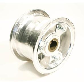 "AZ1147 - 5"" Aluminum Wheel, 3"" wide, 1"" to 3/4"" Step Live Axle"