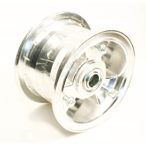 "AZ1148 - 5"" Aluminum Wheel, 3"" wide, 3/4"" ID Bearing"