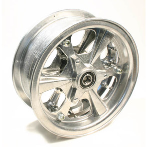 "AZ1175 - 8"" Spinner Aluminum Wheel, 3"" wide, 5/8"" Bearing"