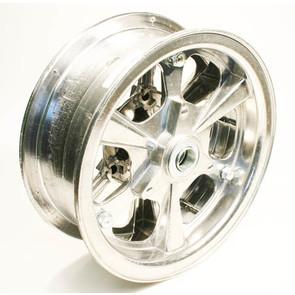 "AZ1177 - 8"" Spinner Aluminum Wheel, 3"" wide, 3/4"" Bearing"