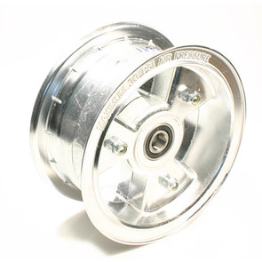 "AZ1193 - 6"" Aluminum Wheel, 3"" wide, 5/8"" ID Bearing"