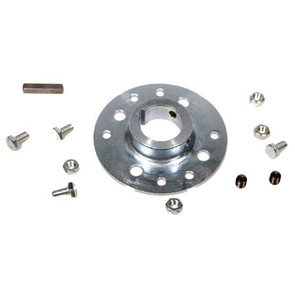 """AZ2566-A - 1-1/4"""" Steel Mini-Hub for 3.228"""" and Indus Pattern with Set Screws"""