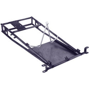 AZ3502 - Go Kart Frame w/Steering Hoop (actual shipping charges apply)