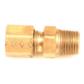 "AZ8310 - Brass Connector, 3/16"" to 1/8"" Tube N.P.T."