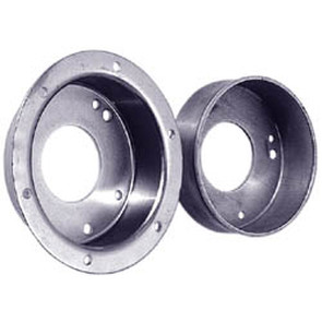 "AZ2213-OD - 4-1/2"" Brake Drum, With Flange - Machined OD"