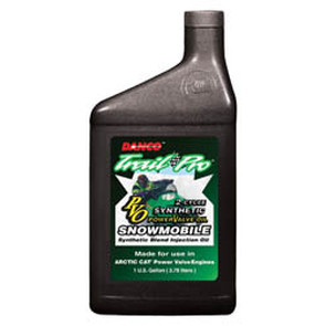 2512-A1000 - Case of 12 quarts of Synthetic Blend for Arctic Cat Power Valve Snowmobiles (actual shipping charges apply)