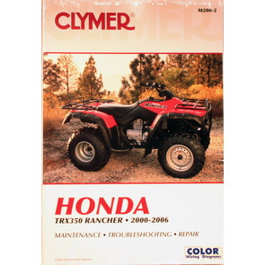 CM200 - 00-06 Honda TRX350 Rancher (all models) Repair & Maintenance manual.