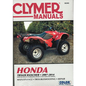 CM202 - 2007-2014 Honda TRX420 Rancher Repair & Maintenance manual.