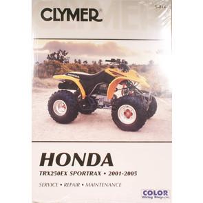CM215 - 01-05 Honda TRX250EX Sportrax Repair & Maintenance manual.