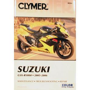CM266 - 05-06 Suzuki GSX-R1000 Repair & Maintenance manual