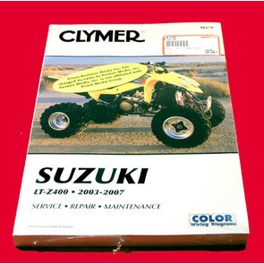 CM270 - 03-08 Suzuki LTZ400 Repair & Maintenance manual.