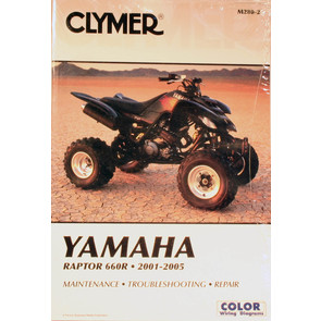 CM280 - 01-05 Yamaha YFM660R Raptor Repair & Maintenance manual.