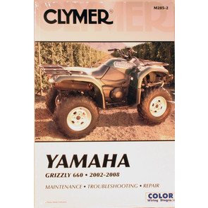CM285 - 02-08 Yamaha Grizzly 660 Repair & Maintenance manual.