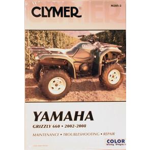 CM285 - 02-08 Yamaha Grizzly 660 Repair & Maintenance manual.