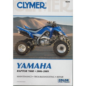 CM290 - 2006-2009 Yamaha Raptor 700R Repair & Maintenance manual.