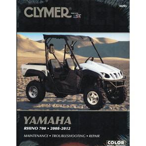 CM291 - 08-12 Yamaha Rhino 700 Repair & Maintenance manual.