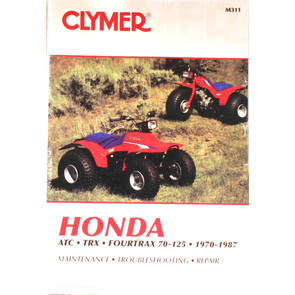 CM311 - 70-87 Honda ATC/TRX/Fourtrax 70-125 ATV models Repair & Maint manual