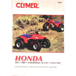 CM311 - 70-87 Honda ATC/TRX/Fourtrax 70-125 ATV models Repair & Maint manual