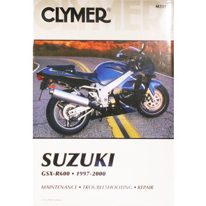 CM331 - 97-00 Suzuki GSX-R600 Repair & Maintenance manual